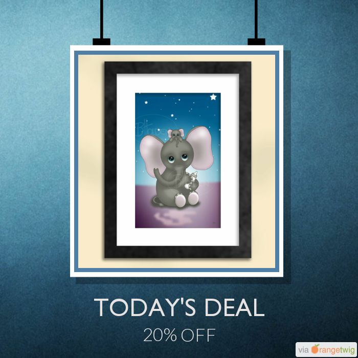 Today Only! 20% OFF this item.  Follow us on Pinterest to be the first to see our exciting Daily Deals. Today's Product: Sale -  Cute Elephant with Baby Art Print Buy now: https://small.bz/AAfs7U9 #etsy #etsyseller #etsyshop #etsylove #etsyfinds #etsygifts #musthave #loveit #instacool #shop #shopping #onlineshopping #instashop #instagood #instafollow #photooftheday #picoftheday #love #OTstores #smallbiz #sale #dailydeal #dealoftheday #todayonly #instadaily #instasale