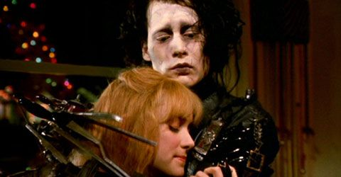 Edward Scissorhands.  One of the most beautiful movies... ever.