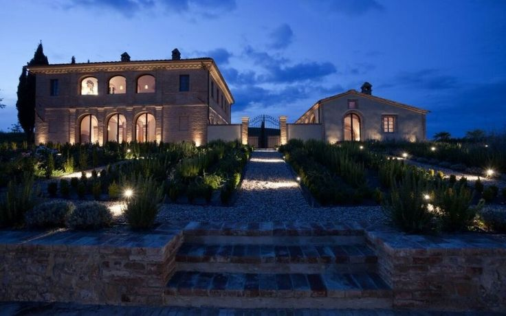 Today's feature property is Villa San Luigi #Tuscany http://luxurylet.com/tuscany-villa-san-luigi-country-estate #TTOT #Italy #Luxury #CountryEstate #Estate #Italian #Countryside #Sienna #Tuscan #Wine #LuxuryRetreat #Retreat #Dark #Dusk #Night #Lights #Gardens #Manor