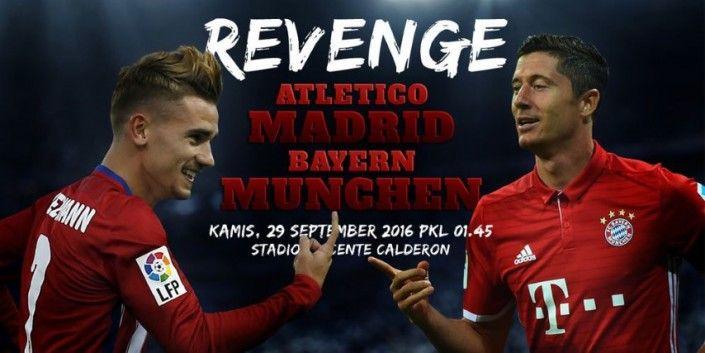 Prediksi Atletico Madrid vs Bayern Muenchen Liga Champions