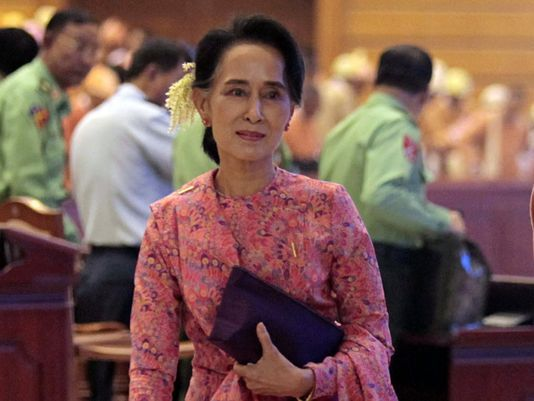 Myanmar parliament enters democratic era after 54 years of military rule