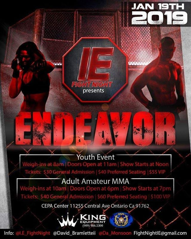 First Youth Event Of 2019 20 Youth Bouts Already Scheduled Bout Youth Event