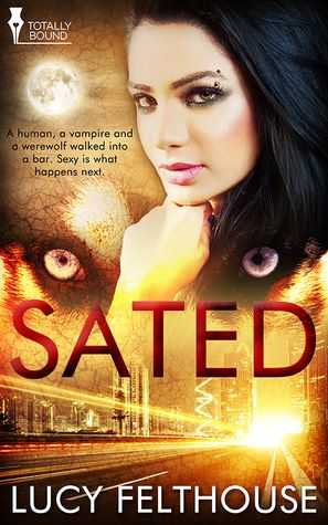 A fantastic five star review of Sated - woohoo!