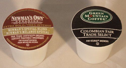 Newman's Own, Green Mountain Colombian Coffee K-Cups Variety Pack for Keurig Brewers (Pack of 80) >>> Huge discounts available  : K Cups