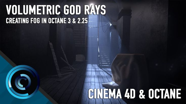 Volumetric Lighting in Octane 3 and Cinema 4D