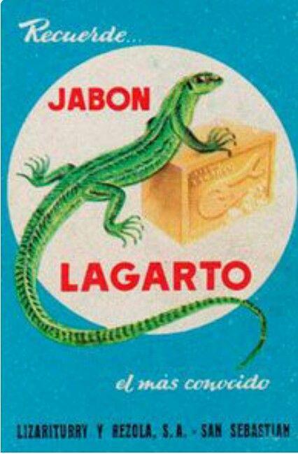 Jabòn Lagarto