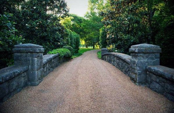 Top 60 Best Gravel Driveway Ideas