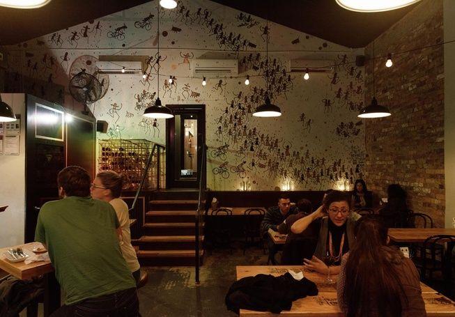 Markov #restaurant #wallmural Photography: Kristoffer Paulsen