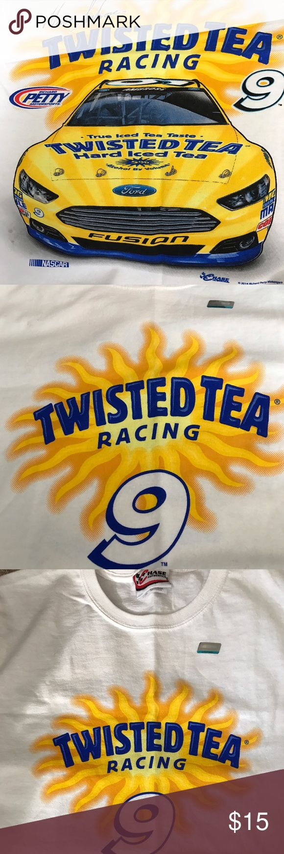 Twisted Tea Logo t-shirt Twisted Tea logo t-shirt from vendor SIZE M NWOT never worn Hase Authenics Tops Tees - Short Sleeve