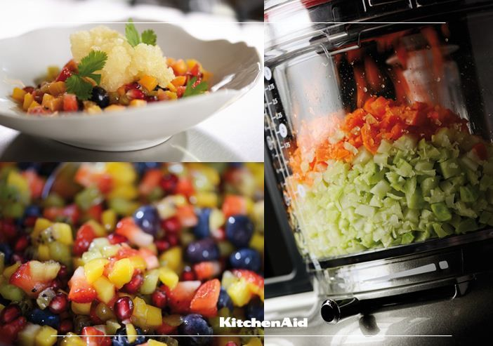KitchenAid Africa Summer Guide:  As with Summer, fruit is a top favourite! We simply love both fruit as well as vegetable tartare as it is refreshing and can be enjoyed on its own or with a variety of things!  Much love KitchenAid Africa xx