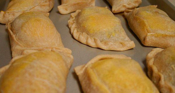 My favorite empanada recipe: Empanadas Chilenas.