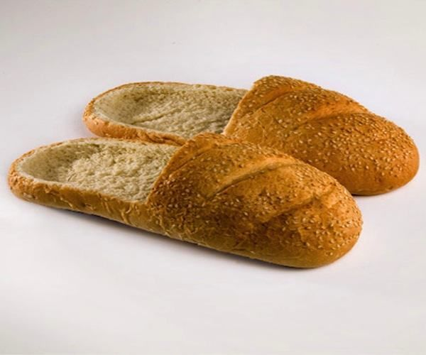 Until today, I knew that bread isn't a kind of food, but also a pair of shoes.