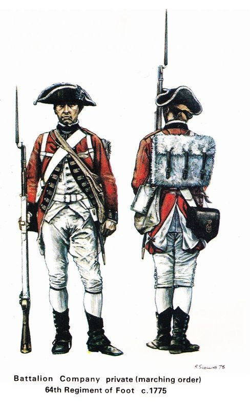 """Redcoat, Tommy, Lobster, Bloodyback, Lobsterback? It's a little-known fact that """"redcoat"""" as slang for a British Army soldier wasn't widely adopted until well into the 19th century. During the 18th century they were known by a number of different..."""