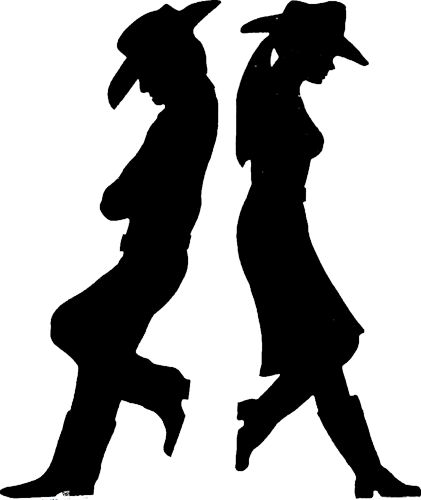 Western Silhouette Images at GetDrawings | Free download |Western Silhouette Art