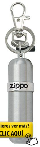 Zippo Fuel Canister - Mechero, color aluminio #mechero