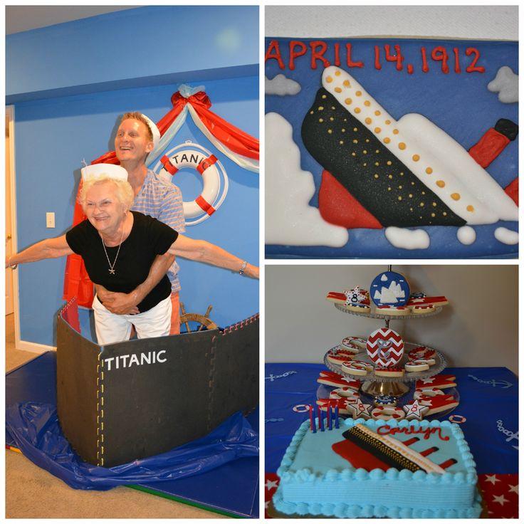 Titanic Birthday Party...Fun times!