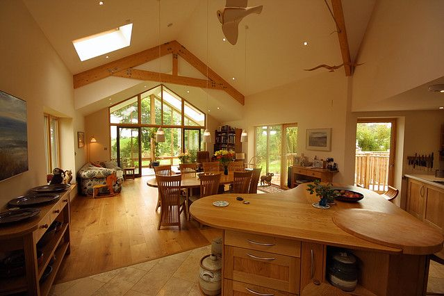 RIBA Chartered Architects in Cornwall, Devon, Truro | Part Earth Sheltered Split Lvl Hse