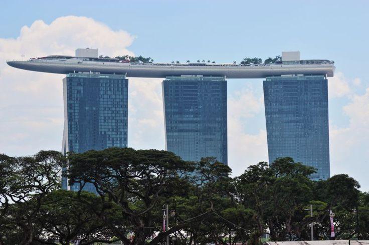 Pieczątki w paszporcie: SINGAPORE MARINA BAY SANDS