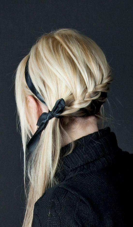 An asymmetrical braid