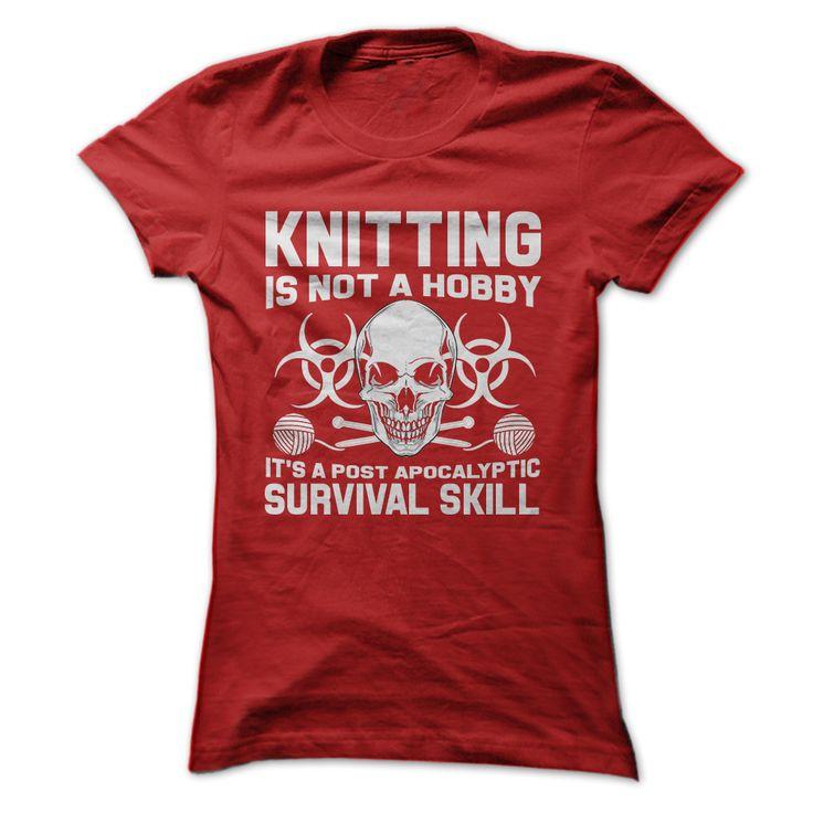 Knitting Skill Tee