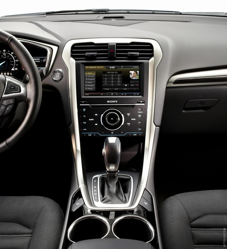 Ford Fusion 2014 Interior Ya Just A Little