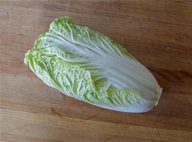 Savoy, Napa, curly, green, red. Learn which cabbage is which and what to do with them.: Napa Cabbage
