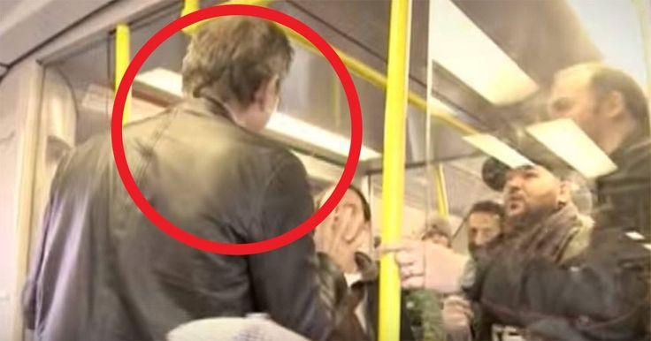 Grabbgänget sjunger Tomas Ledin i tunnelbanan – då smyger en oväntad resenär upp och gör drömmen sann