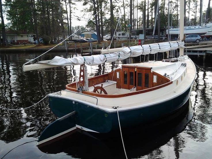 new/old restoration catboat project
