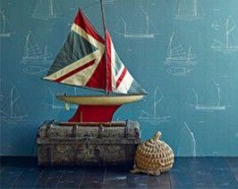 Ephemera Wallpaper Range | Linwood Fabrics