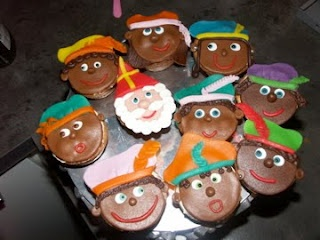 Allemaal Taart; Sinterklaas cupcakejes