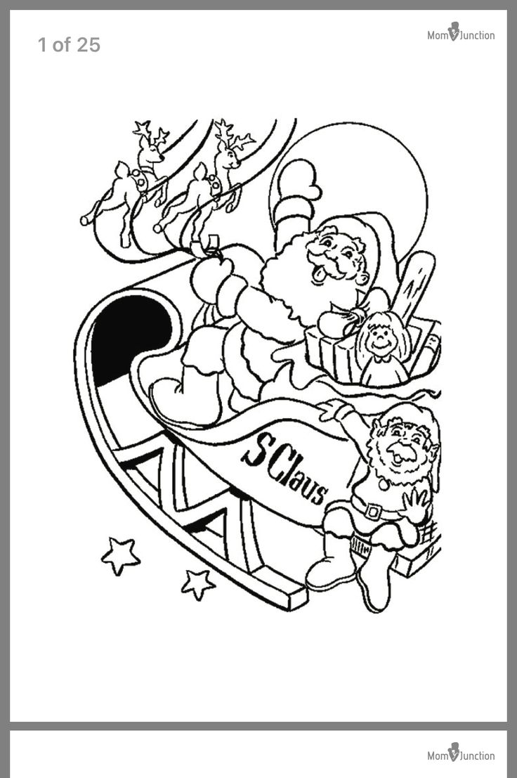 Pin by Sam Toan on Crafts Christmas coloring pages