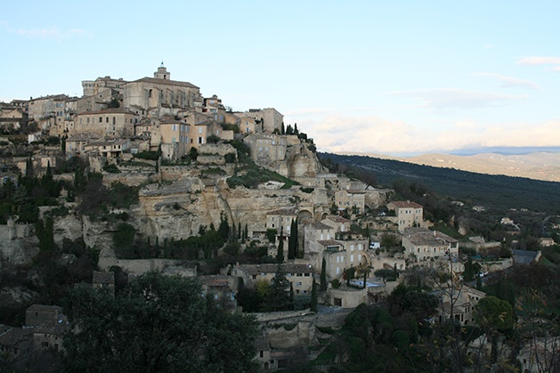 Gordes, France. Didn't make it here, but definitely want to stop by.