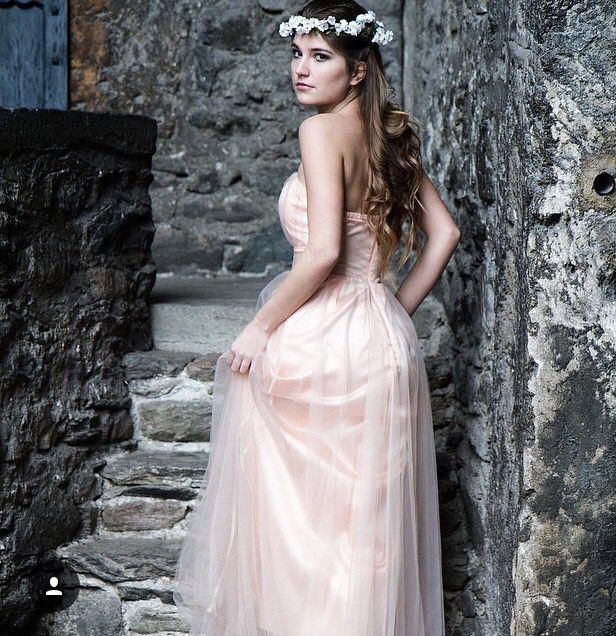 Princess in light pink