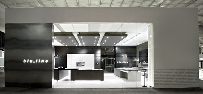 blu_line kitchens showcasing some of our best work at decorex 2012