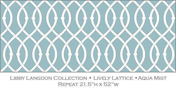 Lively Lattice Is An Upscale Geometric Design By Interior Designer Libby Langdon For Casart Coverings Self Adhesive Wallpaper Temporary