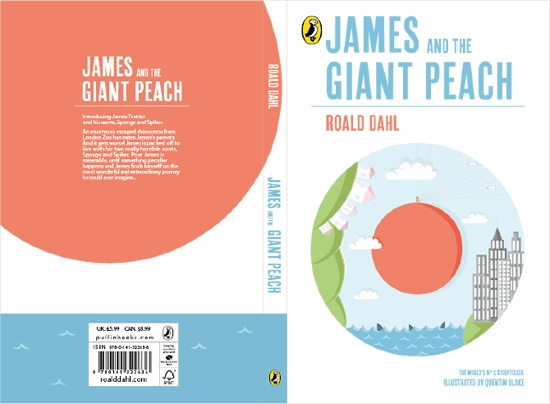 james and the giant peach.