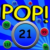Factor POP - Find factors and multiples. Game difficulty ramps up quickly!