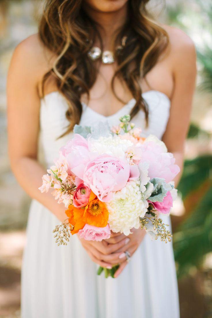 Photography : This Love Of Yours Photography | Wedding Dress : Vera Wang | Bridesmaids' Dresses : Donna Morgan | Floral Design : Asiel Design | Groom's Attire : Calvin Klein