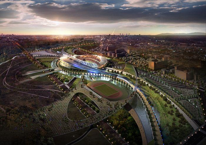 2014 Asian Games Stadium: South Korea