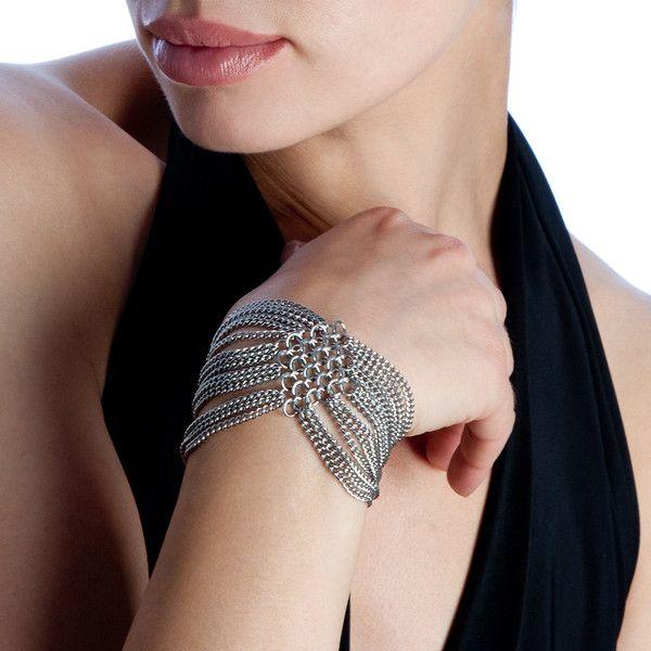 SLINKY Diamond 2-Section Bracelet