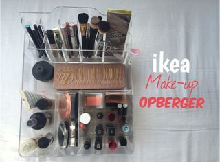 Ikea make-up opberger