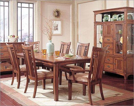 41 best dining room inspiration images on pinterest - Mission style dining room furniture ...