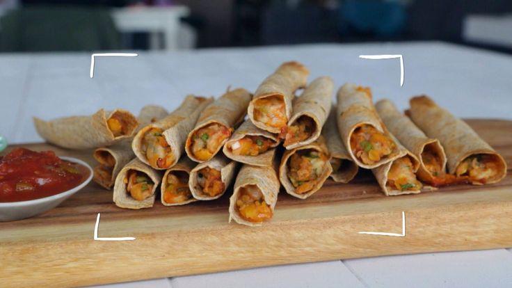 Flautas (ou taquitos) - Cuisine futée parents pressés