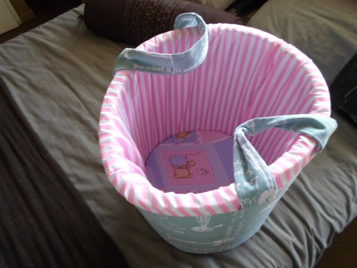 a toy barrel for the new baby ,
