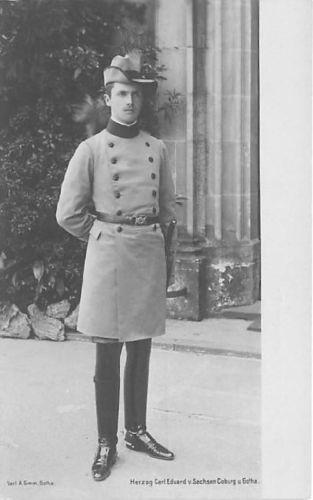 Herzog Carl Eduard von Sachsen Coburg und Gotha
