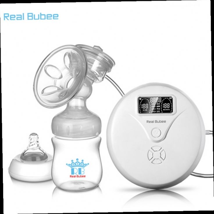 52.62$  Buy here - http://alihh2.worldwells.pw/go.php?t=32780766760 - Real Bubee 2016 hot sale Microcomputer intelligent Natural frequency conversion electric breast pump with baby feeding bottle