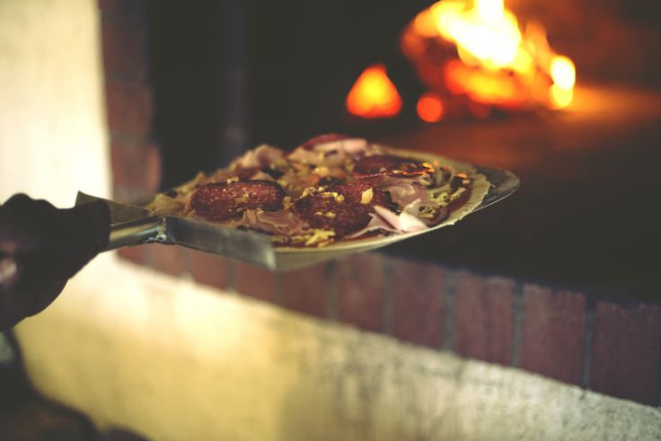 """""""One Giorgio Pizaaaah coming uppppaah!"""" #WoodFired #ThinBase #LaGrapperiaPizzaAndTapas #SpiceRoutePaarl"""