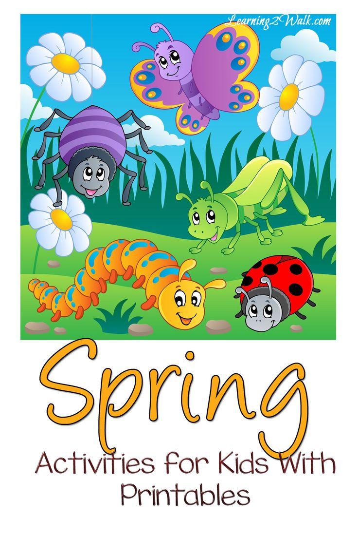 192 best Spring Activities for Kids images on Pinterest | Preschool ...
