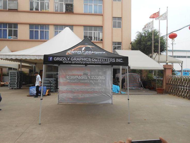 Heat Transfer Printing Steel Frame Promotional Tent 3x3m