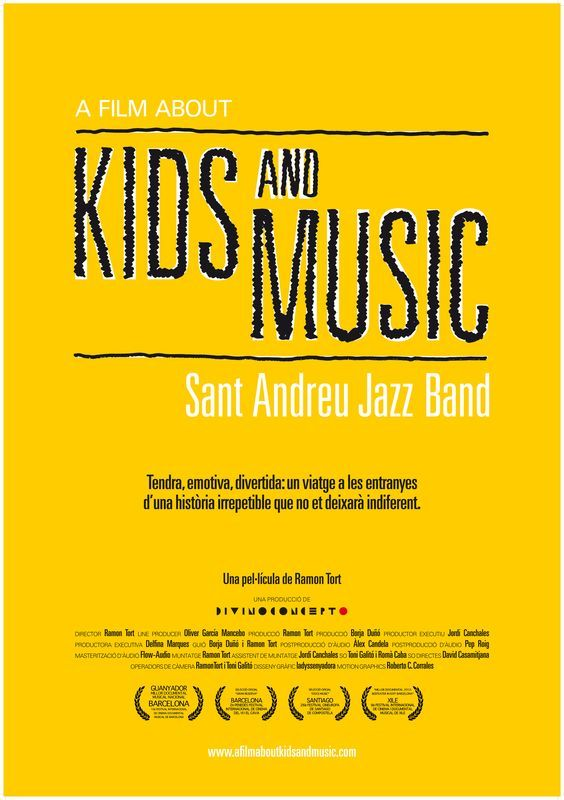 A Film About Kids and Music. Sant Andreu Jazz Band (2012) de Ramon Tort -  tt2460440